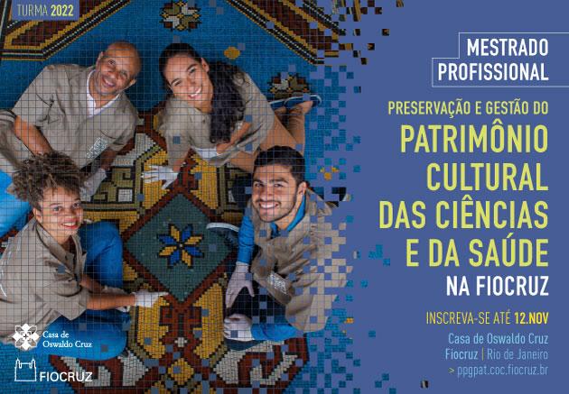 Preservação e Gestão do Patrimônio Cultural das Ciências e da Saúde - 2021