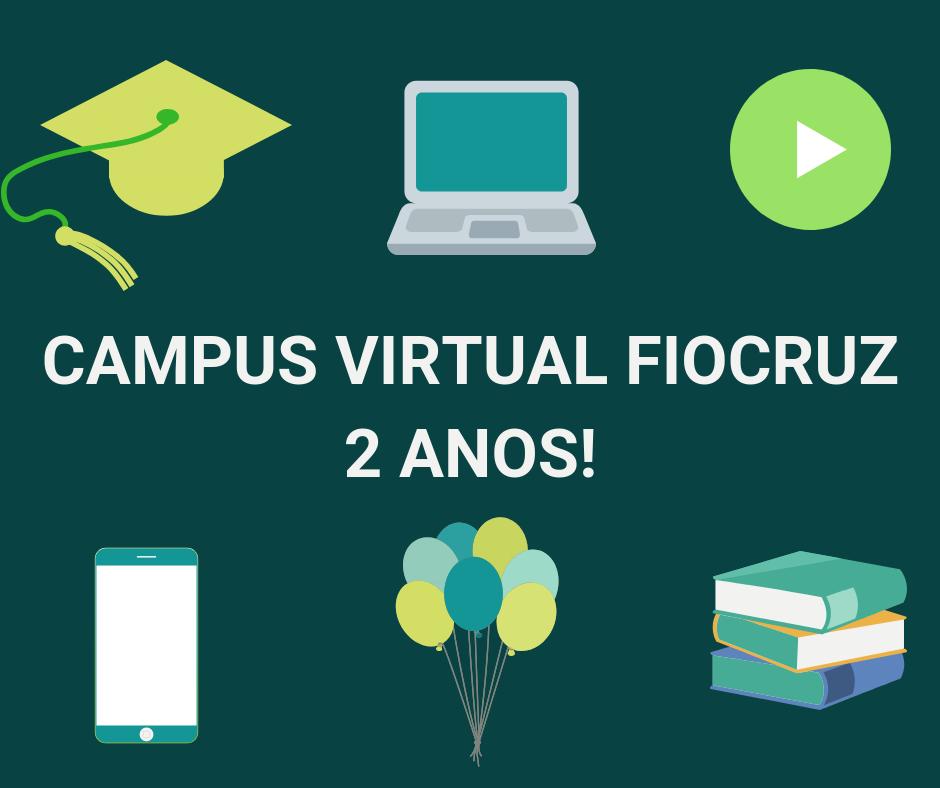 Campus Virtual Fiocruz celebra dois anos com crescimento de 47% e mais de 2,85 milhões de visitas