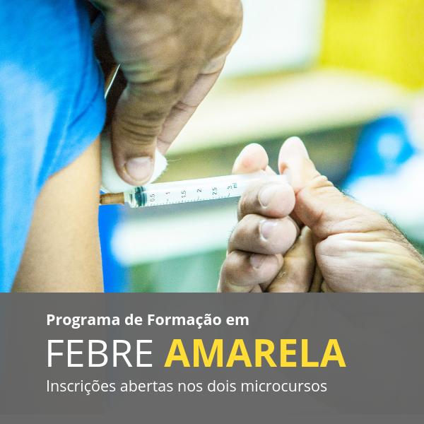Fiocruz lança dois microcursos sobre febre amarela*