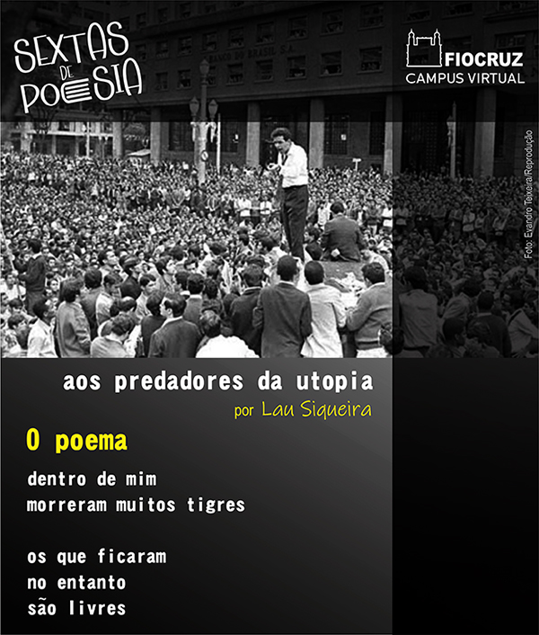 Lau Siqueira é o poeta do 'Sextas' desta semana