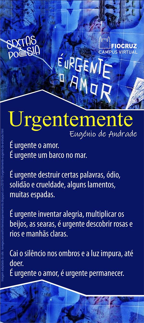 Eugénio de Andrade traz a urgência do amor ao Sextas de Poesia