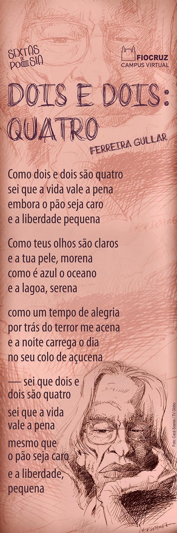 Sextas de Poesia traz Ferreira Gular