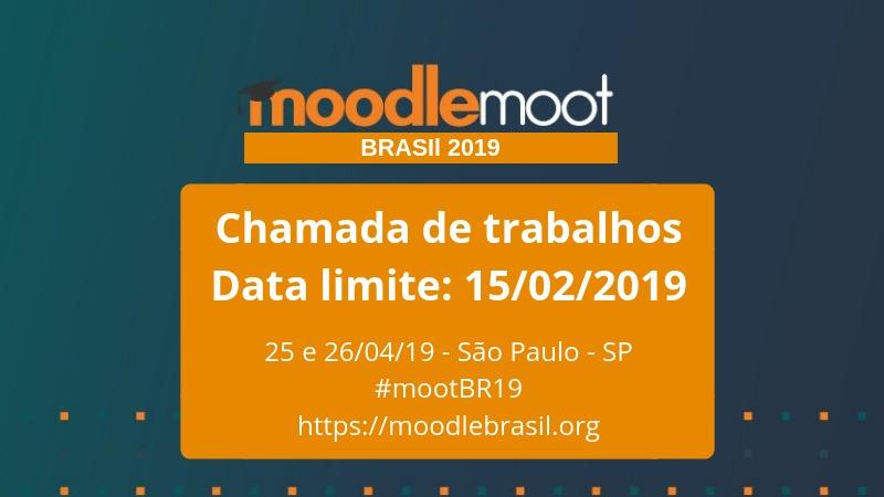 Apaixonados por educação e tecnologia: Moodle Moot Brasil recebe trabalhos até 15 de fevereiro