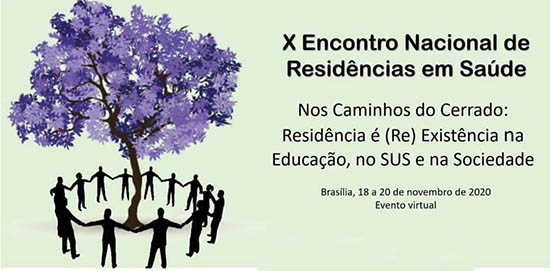X Encontro Nacional de Residências em Saúde será realizado on-line. Atividades começam em 18/11