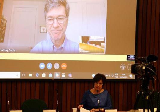 Pandemia, economia e saúde pública: economista da Universidade Columbia ministra aula inaugural