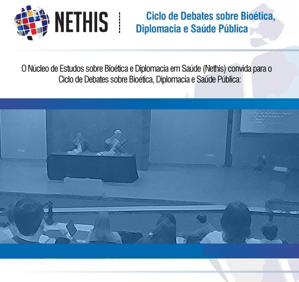 Ciclo de Debates sobre Bioética, Diplomacia e Saúde Pública - sessão novembro 2021 - 9º Oferta - 2021