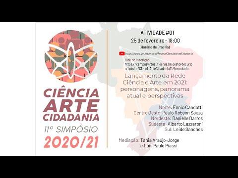 Ciência, Arte e Cidadania 2021: 11º Simpósio - 11º Oferta