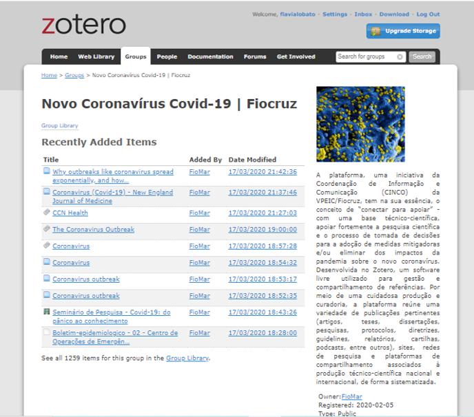 Biblioteca temática da Fiocruz reúne mais de 1 mil publicações científicas sobre o novo coronavírus