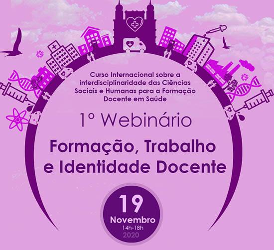Formação, trabalho e identidade docente: encontro online dá início a curso internacional