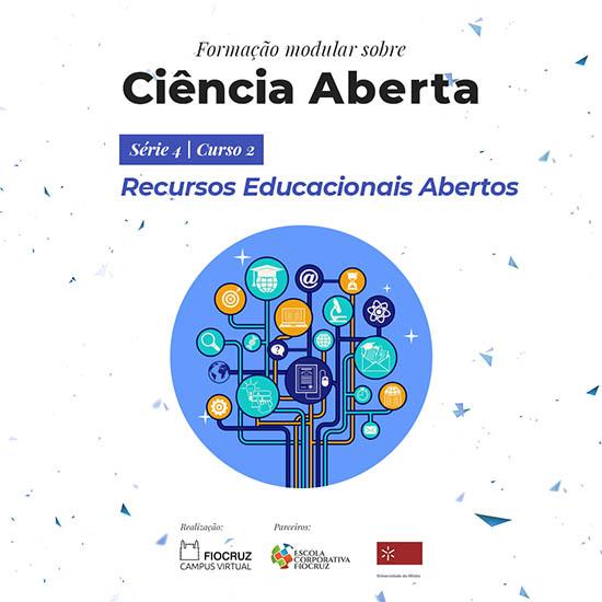 Fiocruz abre inscrições para novo curso sobre Recursos Educacionais Abertos