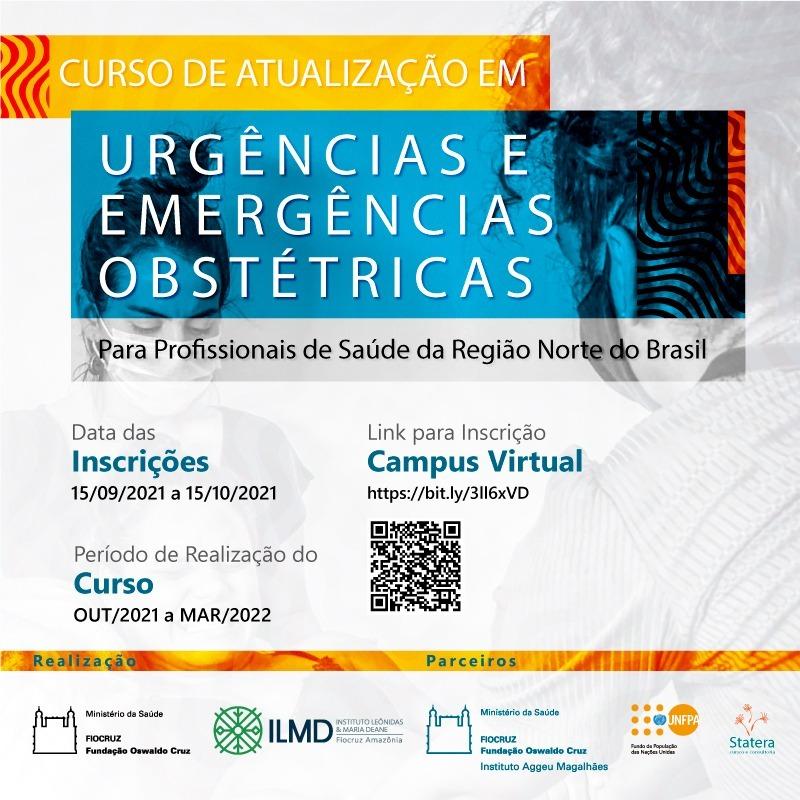 Fiocruz lança curso sobre urgências e emergências obstétricas para região Norte