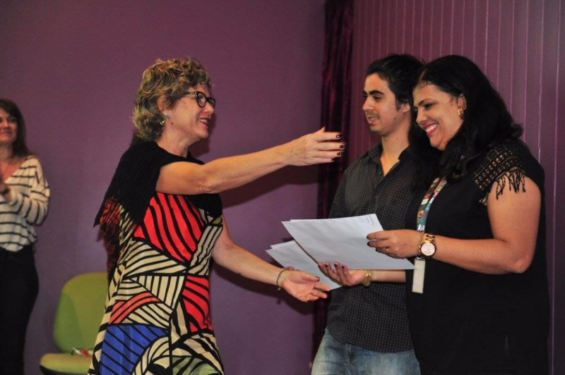 Alunos e orientadores celebram com alegria a conquista do 1º Prêmio Oswaldo Cruz de Teses
