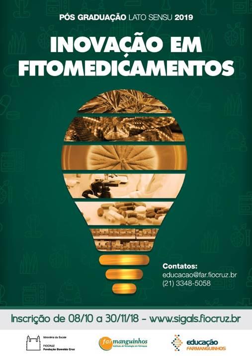 Farmanguinhos oferece 30 vagas para especialização em inovação em fitomedicamentos