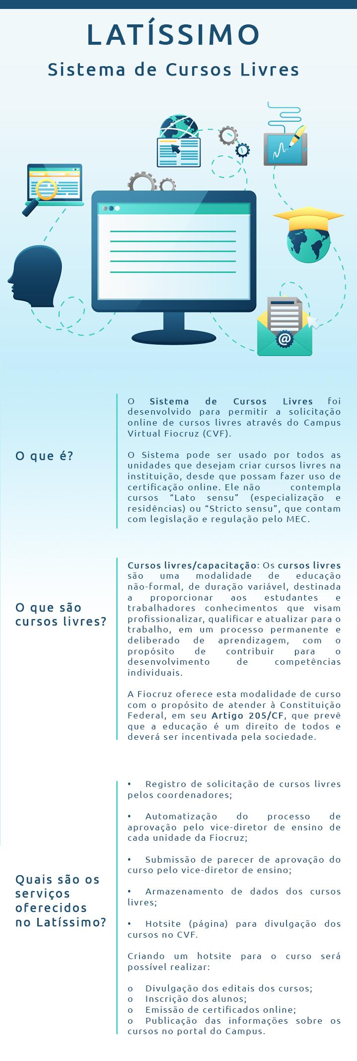 Campus Virtual Fiocruz lança Sistema de Cursos Livres (Latíssimo)