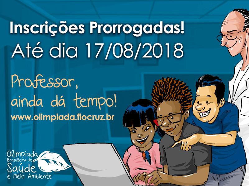 9ª Olimpíada Brasileira de Saúde e Meio Ambiente prorroga inscrições de projetos