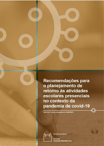 Retorno às atividades escolares: Fiocruz atualiza documento de recomendações